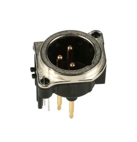 QSC CO-000171-00  Male XLR Output Connector CO-000171-00