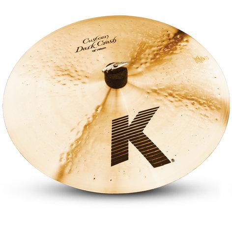 "Zildjian K0951 16"" K Custom Dark Crash Cymbal K0951"