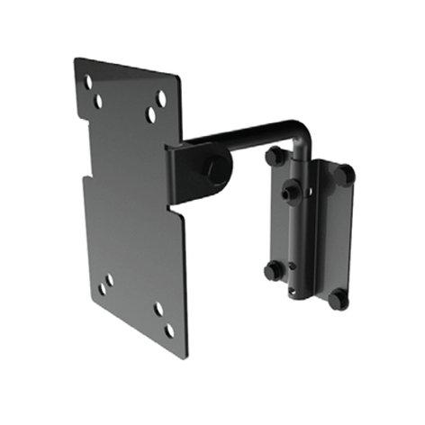 Allen Products/Adaptive Technologies MultiMount MM-017 Pan & Tilt Speaker Wall Mount in Black, 25 lb Capacity MM-017