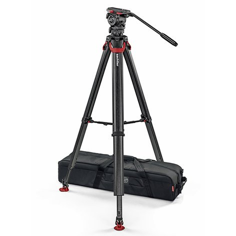 Sachtler SYSTEM-FSB6-FT-MS  FSB6 Fluid Head with Flowtech MS Tripod SYSTEM-FSB6-FT-MS