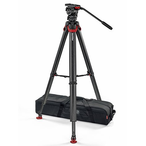 Sachtler SYSTEM-FSB6T-FT-MS FSB6 Touch&Go Head with Flowtech MS Tripod SYSTEM-FSB6T-FT-MS