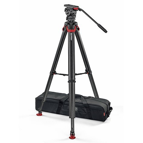 Sachtler SYSTEM-FSB8T-FT-MS  FSB8 Touch&Go Head with Flowtech MS Tripod SYSTEM-FSB8T-FT-MS