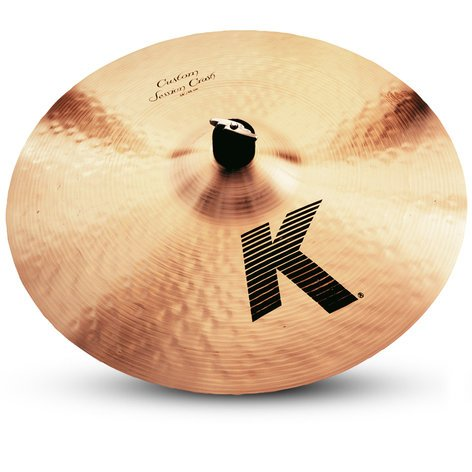 "Zildjian K0991 18"" K Custom Session Crash Cymbal K0991"