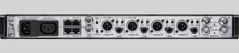 Shure AD4QNP Four-Channel Reciever AD4QNP