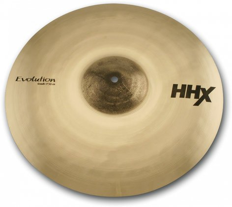 "Sabian 11706XEB 17"" HHX Evolution Crash Cymbal in Brilliant Finish 11706XEB"