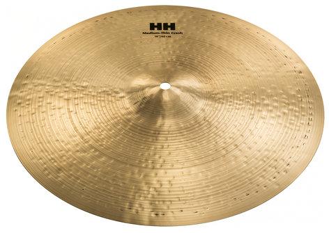 """Sabian 11607B 16"""" HH Medium-Thin Crash Cymbal in Brilliant Finish 11607B"""