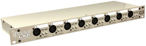 Radial Engineering LX8  8 Channel Line Level Signal Splitter and Isolator LX8