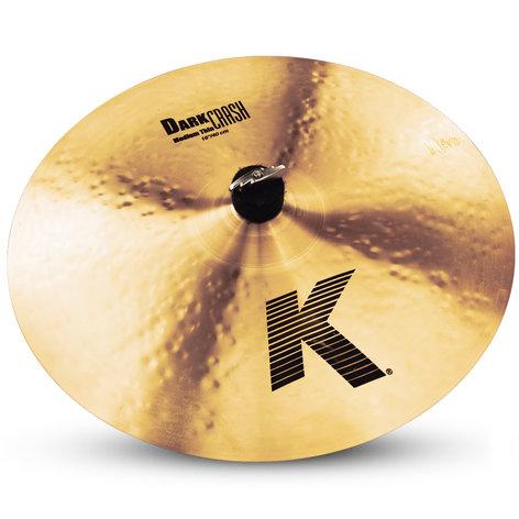 """Zildjian K0913 16"""" K Dark Medium Thin Crash Cymbal K0913"""