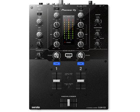 Pioneer DJM-S3 2ChannelMixer for Serato DJ DJM-S3