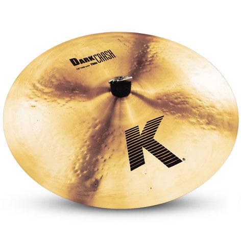 "Zildjian K0905 19"" K Dark Thin Crash Cymbal K0905"