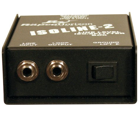 RapcoHorizon Music IL-2  Transformer Isolation Interface Box IL-2