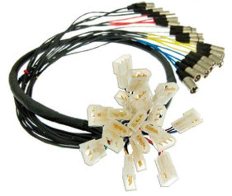 Pro Co QLS0400FEM-25 25 ft 4-Channel Quick Link Solution Snake, e3mc to XLRM QLS0400FEM-25