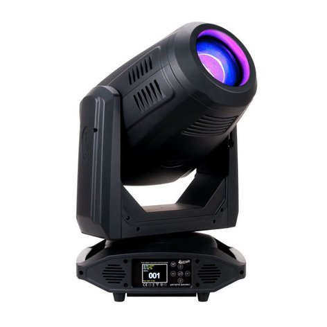 Elation ARTISTE-DAVINCI Artiste DaVinci 270w LED Moving Head Spot with Zoom & Color Mixing ARTISTE-DAVINCI