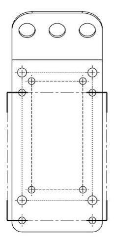 JBL MTC-CBT-SUS3 Suspension Kit for CBT Speakers, Black MTC-CBT-SUS3
