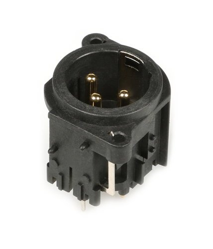 QSC CO-000058-GP  HPR122i XLR Male Connector (2-pack) CO-000058-GP