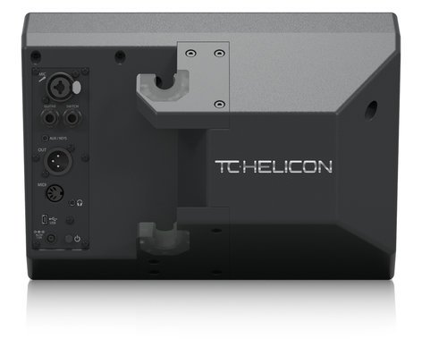TC Helicon SingThing. All-In-One Vocal Processor with Speaker, Microphone, and Cables SINGTHING