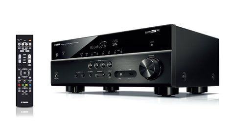 yamaha rx v483 5 1 channel 4k ultra hd network av receiver full compass. Black Bedroom Furniture Sets. Home Design Ideas