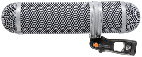 Rycote 010321 Super-Shield Kit, Medium Shotgun Microphone Windshield and Shock Mounting Kit 010321