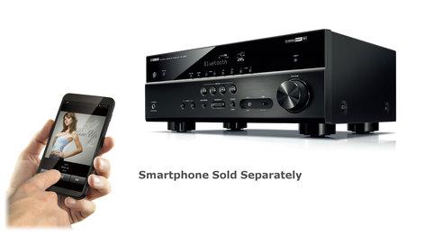 Yamaha RX-V483 5.1-Channel 4K Ultra HD Network AV Receiver  RX-V483BL