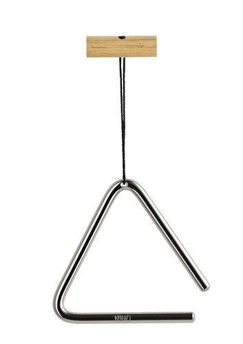 "NINO Percussion NINO550 4"" Steel Triangle with Beater NINO550"