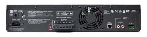 JBL CSA1300Z Commercial Amplifier, 300 Watt,70v, 2RU CSA1300Z