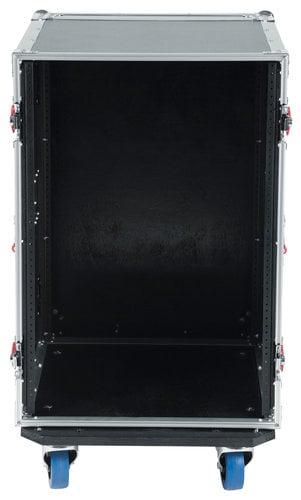 Gator Cases G-TOUR 14U CAST 14RU ATA Style Rack Case with Locking Caster Board G-TOUR-14U-CAST
