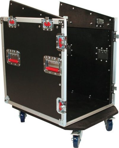 Gator Cases G-TOUR-GRC12X12 G-Tour Series Fixed Top Console Rack with 12RU on Top, 12RU on Bottom G-TOUR-GRC12X12