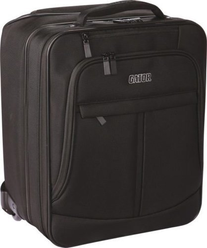 Gator Cases GAV-LTOFFICE-W Laptop & Projector Bag with Wheels GAV-LTOFFICE-W