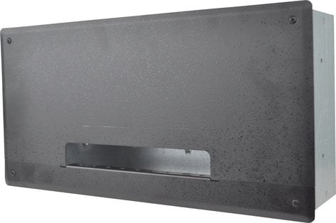FSR PWB-250-BLK  Plasma/Flat Panel Display Wall Box with 6 IPS, 3 AC/Gang, 2 Knockouts PWB-250-BLK