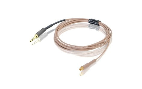 Countryman E6CABLEL-TO-DURAMAX E6CABLEL2TO 2mm Snap-On E6 Cable for TOA in Light Beige E6CABLEL-TO-DURAMAX