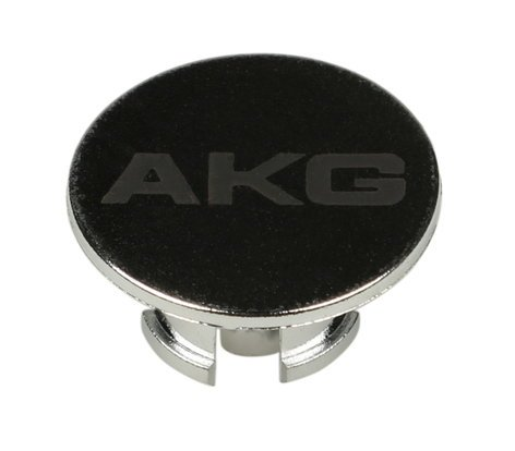 AKG 2458Z44110  Q701 Locking Chrome Logo Knob 2458Z44110