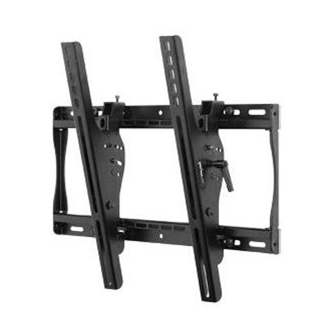 "Peerless ST640-RST-01 ST640 [RESTOCK ITEM] Universal Tilting Wall Mount for Medium 23"" - 46"" LCD Screens, with Security Hardware, Black ST640-RST-01"