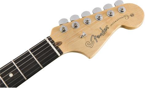 Fender LTD-AMPRO-JAZZMASTER American Professional Jazzmaster Limited Edition Electric Guitar, Silverburst Finish LTD-AMPRO-JAZZMASTER