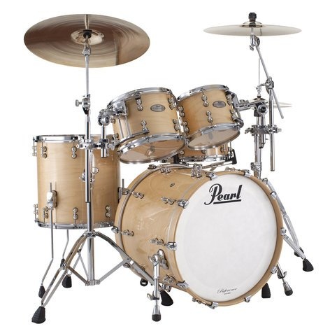 Pearl Drums RFP924XSP/102 4-Piece Reference Pure Shell Pack in Natural Maple RFP924XSP/102