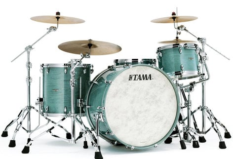 Tama TW42ZSATW 4 Piece STAR Drum Walnut Shell Pack in Antique White Finish TW42ZSATW