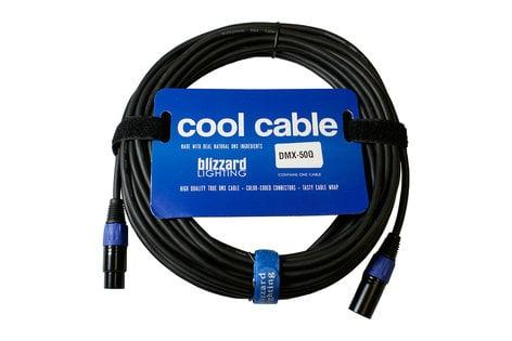 Blizzard Lighting DMX-50Q 50 ft. 22AWG 3-Pin XLR-M to XLR-F 120 Ohm DMX Cable DMX-50Q