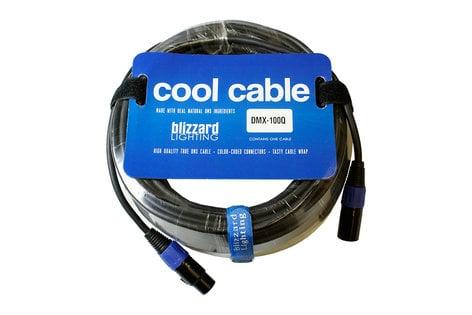 Blizzard Lighting DMX100Q 100 ft 22AWG 3-Pin XLR-M to XLR-F 120 Ohm DMX Cable DMX-100Q