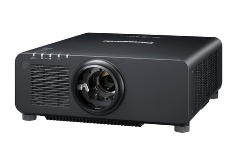 Panasonic PTRW730LBU [RESTOCK ITEM] 7200lm WXGA Laser Projector in Black with No Lens PTRW730LBU-RST-01