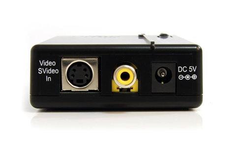 StarTech VID2VGATV2  Composite and S-Video to VGA Video Scan Converter  VID2VGATV2
