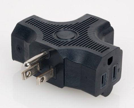 Elation Pro Lighting EC3FER  Edison Single to Triple Power Adapter, UL Listed, 120V EC3FER