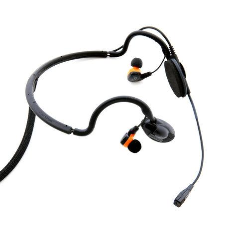 Point Source Audio CM-I5  Black Modular Intercom Headset CM-I5