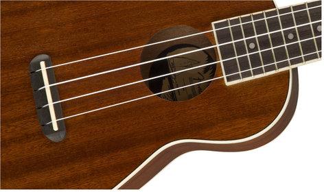 Fender UKE-SEASIDE Seaside Soprano Ukulele UKE-SEASIDE