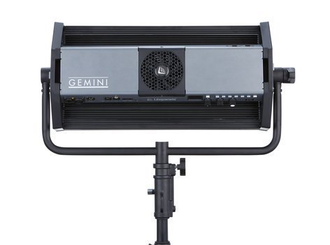 Litepanels Gemini Soft Panel 325W 2x1 LED Panel with Bare Ends and Pole Operated Yoke 940-1411
