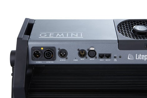 Litepanels Gemini LED Soft Panel 325W 2x1 LED Panel with Edison Connector and Pole Operated Yoke 940-1311
