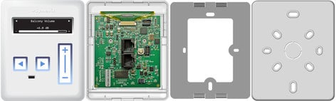 Symetrix ARC-3 [RESTOCK ITEM] Wall Panel Remote ARC-3-RST-01