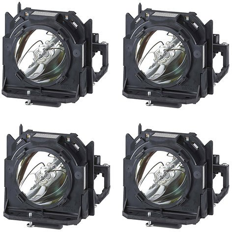 Panasonic ETLAD12KF 4-Pack of ETLAD12K Replacement Projector Lamps (for 12000 Series Projectors) ETLAD12KF