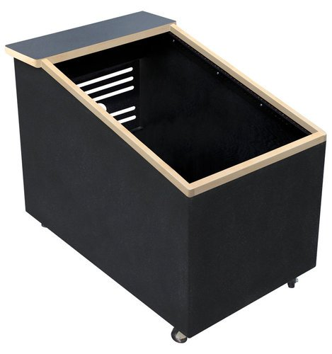 Sound Construc.& Supply Lowboy Studio Racks 14RU Top-Angled Studio Rack with Wheels LOWBOY-R14