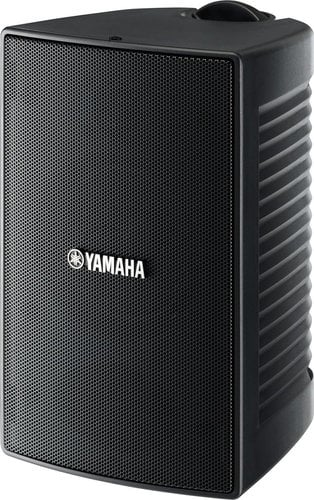Yamaha VS4 Surface Mount Speakers, 30 Watt @ 8 Ohms, 70V, Pair, Black VS4-CA