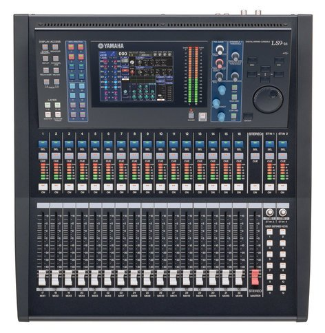 Yamaha LS9-16-CSTOCK MODEL 32-Channel Digital Mixing Console with 16 Microphone Inputs LS9-16-CSTOCK