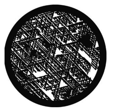 Rosco Laboratories 78227  Broken Weave Steel Gobo 78227